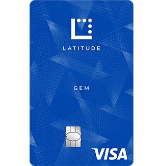 Latitude Gem Visa Credit Card