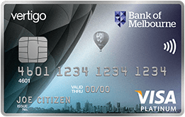 Bank of Melbourne Vertigo Platinum