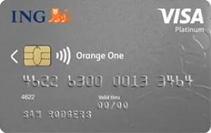 ING Orange One Rewards Platinum Credit Card