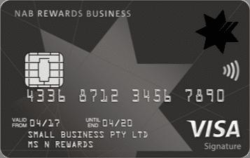NAB Rewards Business Signature Card