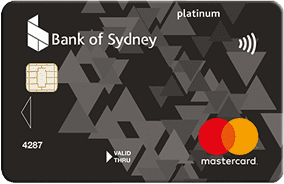 Bank of Sydney Platinum Mastercard