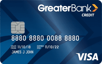 Greater Bank Visa Credit Card