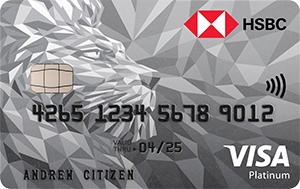 HSBC Platinum Credit Card – 0% Balance Transfer Offer